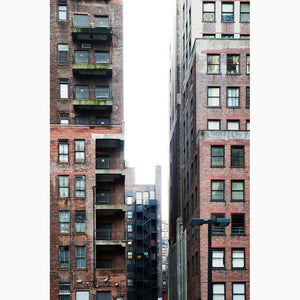 Metal Print - NYC Fire Escape