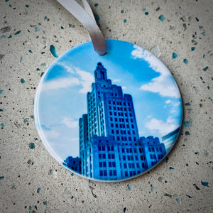 Ornament - Providence Superman Building