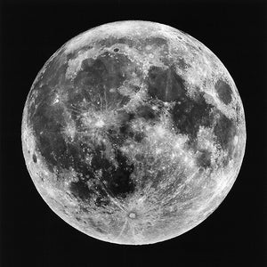 Metal Print - Super Moon