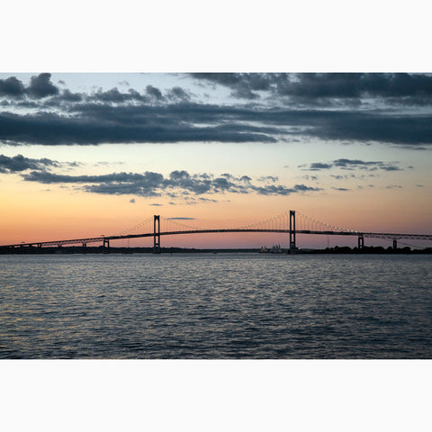 Metal Print - Newport Bridge