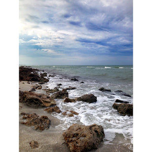 Metal Print - Stormy Shores