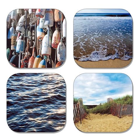 Coaster Set - Beach & Buoy