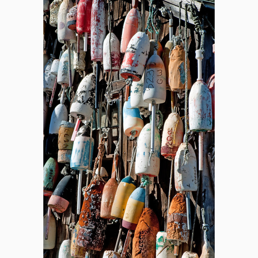 Metal Print - Buoys