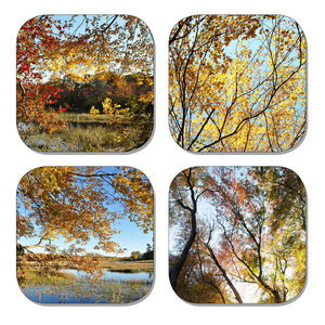 Coaster Set - Autumn Scenes