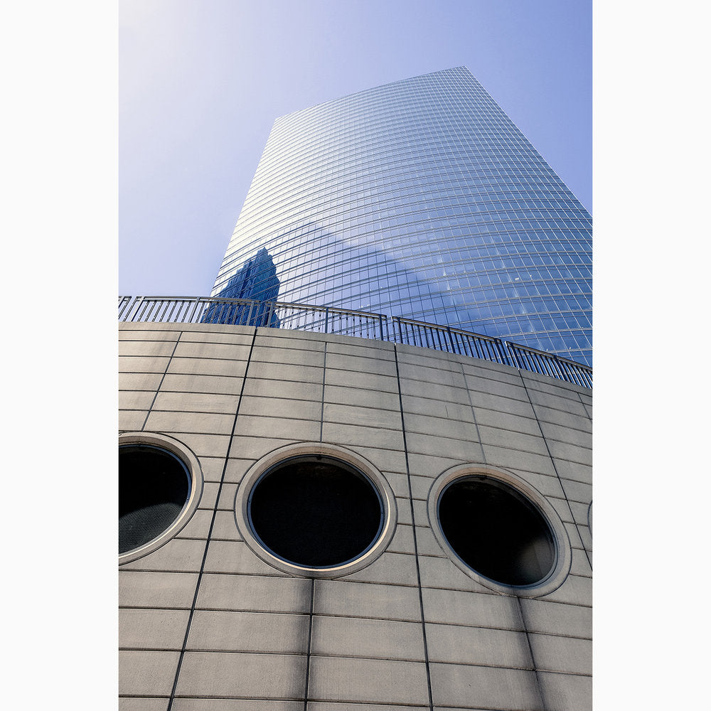 Metal Print - Chicago Round Windows