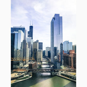 Metal Print - Chicago Riverview I