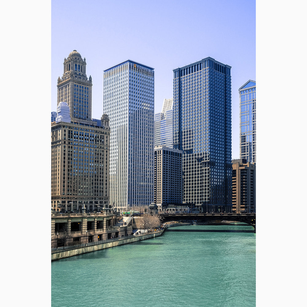 Metal Print - Chicago Riverview III