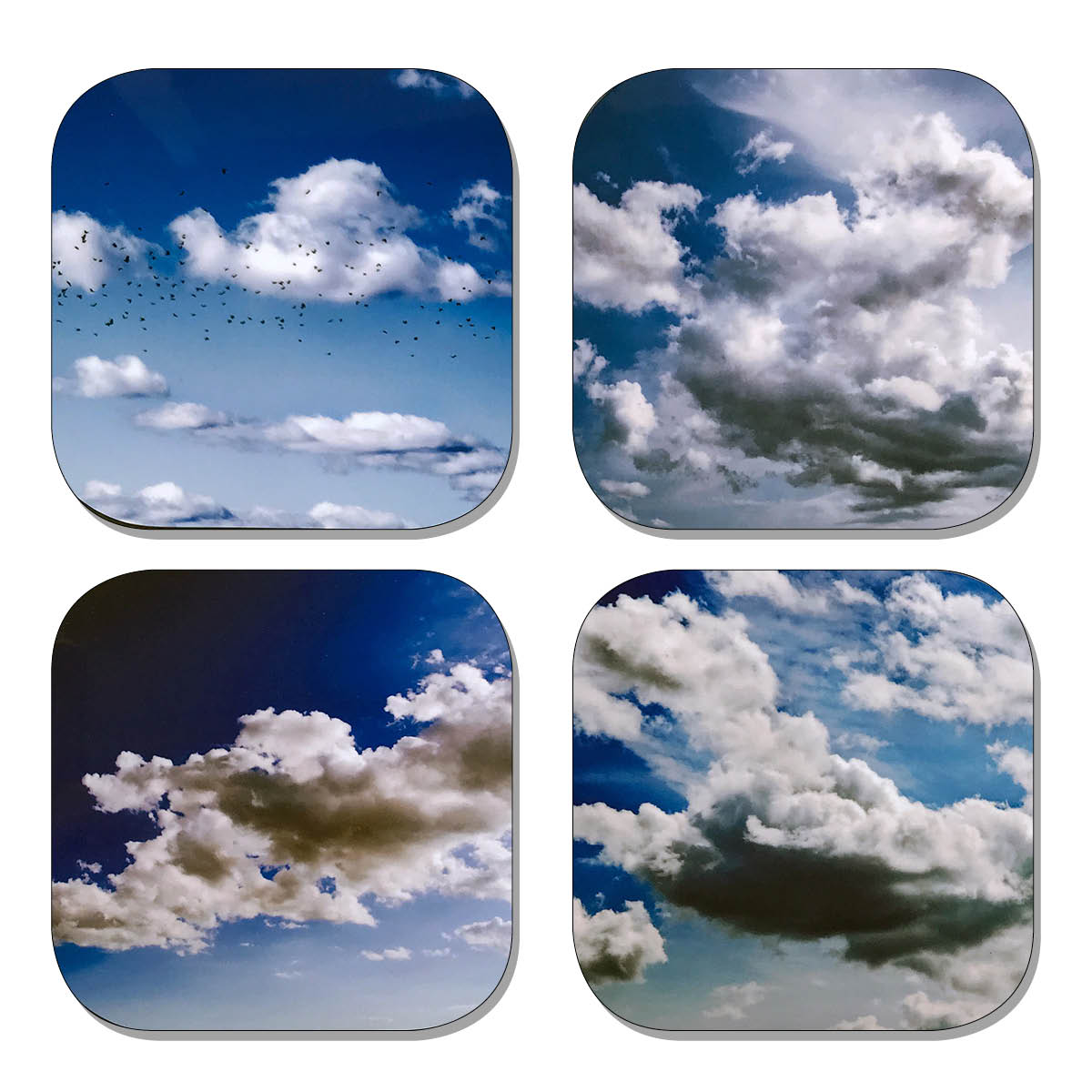 Coaster Set - Clouds