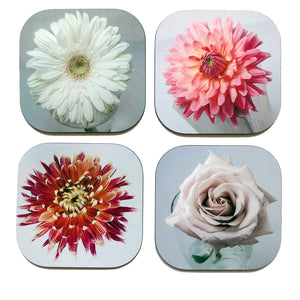 Coaster Set - Flowers
