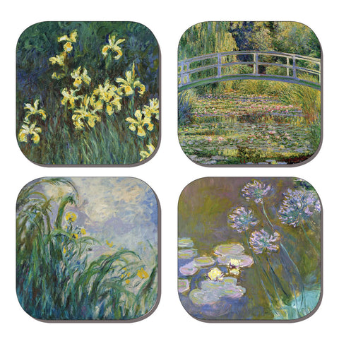 Coaster Set - Monet's Gardens