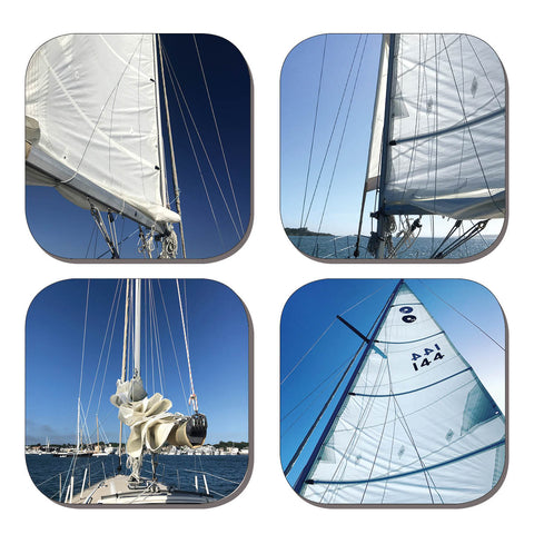 Coaster Set - Sails
