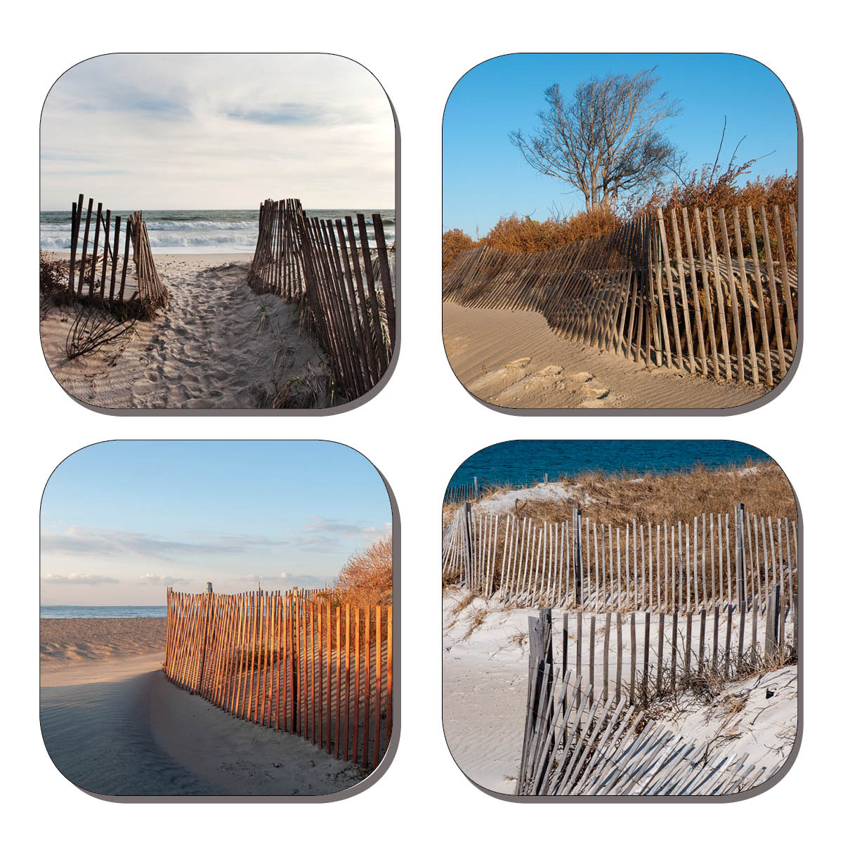 Coaster Set - Sand Fences