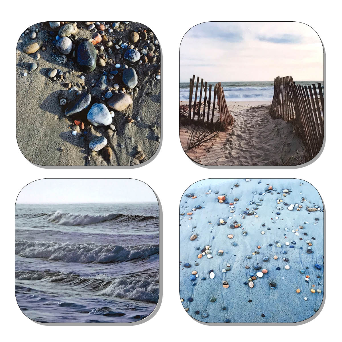 Coaster Set - Seashore
