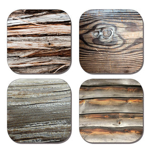 Coaster Set - Wood