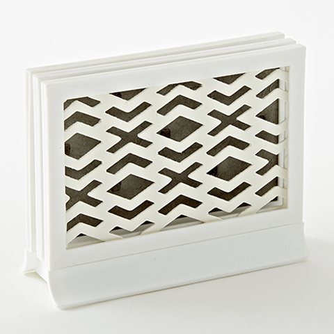 Padded Décor Diffuser - Diamonds White