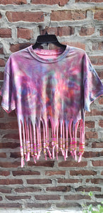 Cotton Candy Beaded fringe
