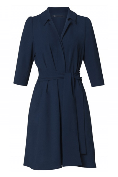 BIG POCKET DRESS JACKET - BØGELUND-JENSEN - Royal Blue - Kjole - porteagauche