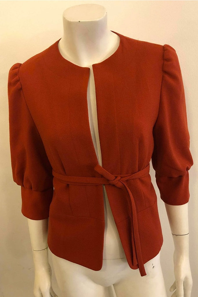 Christina Koch - Blazer, Orange - Blazere - porteagauche