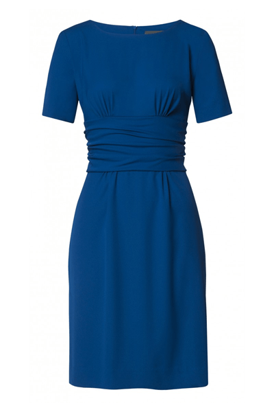 Draped Belt Dress - Bøgelund-Jensen - Cobalt - Kjoler - porteagauche
