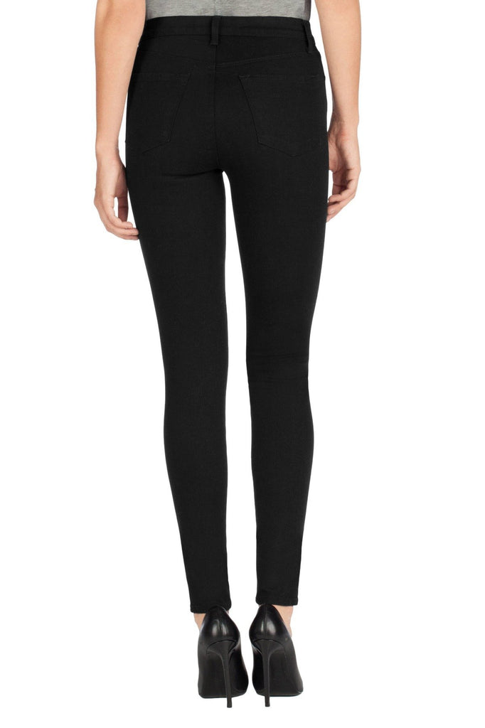 J-Brand - Maria High-Rise Skinny Jeans - Vanity / Black - Jeans - porteagauche