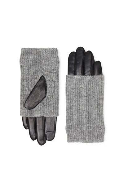 Markberg - Helly Gloves - Black / Grey - Handsker - porteagauche