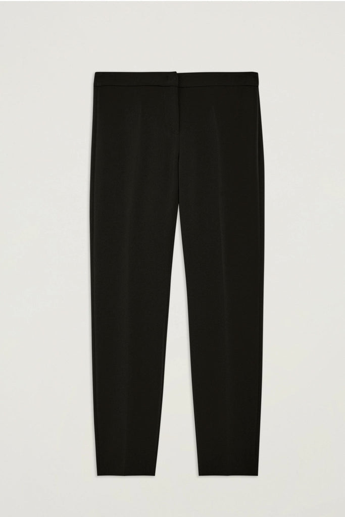Penny Black - Lampone cropped Trouser - Black - Bukser - porteagauche