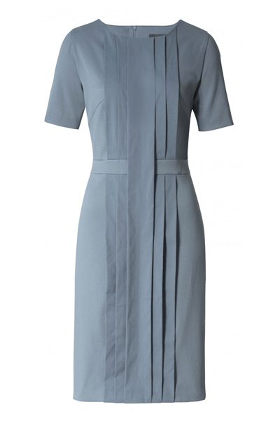 Present Pleated dress - Bøgelund-Jensen - Dust Grey - Kjole - porteagauche