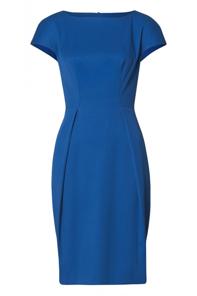 SIMPLE DRESS - BØGELUND-JENSEN - BLUE - Kjoler - porteagauche