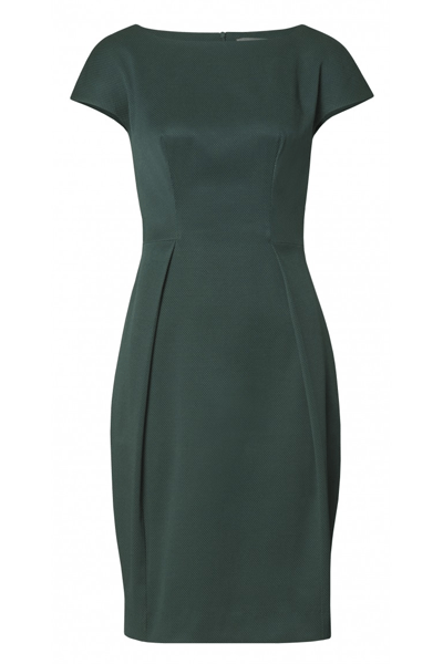 SIMPLE DRESS - BØGELUND-JENSEN - GREEN - Kjoler - porteagauche