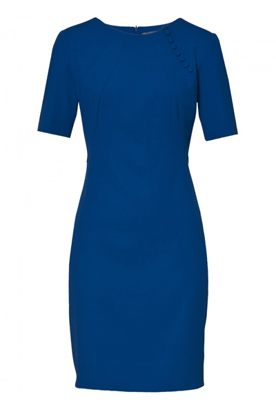 Star Button dress - Bøgelund-Jensen - Cobalt - Kjole - porteagauche