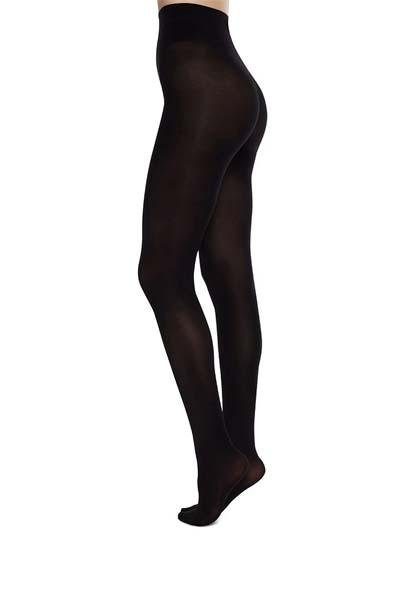 Swedish Stockings - Olivia Premium Tights - Black - strømpebukser - porteagauche