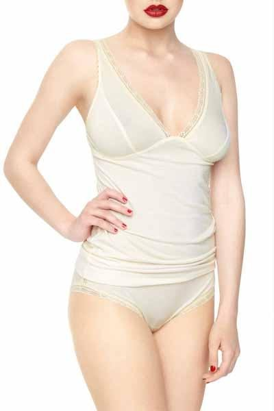 Viola Sky - Miss Pearl Camisole Top - Toppe - porteagauche