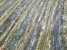 Load image into Gallery viewer, Mossy Green Cotton Rag Rug