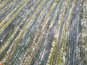 Mossy Green Cotton Rag Rug