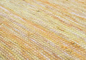 Golden Poppy Rag Rug