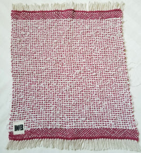 Scrubbie Washcloth /  Cotton, Linen and Hemp Loofah Cloth for Face & Body