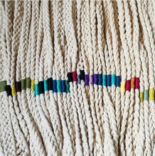 Load image into Gallery viewer, MADE TO ORDER  Plaited Cotton Plant Hanger