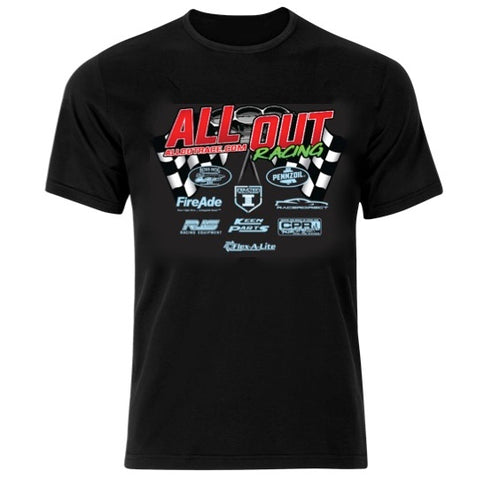 2019 ALL OUT Racing T Shirt- Sale Item!