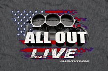 New 2020 ALL OUT Live Official Event T Shirt - Men's!