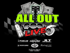 2019 ALL OUT Live Official Event T Shirt - Men's!