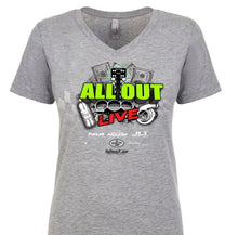 ALL OUT Live Official Event T Shirt - Women's