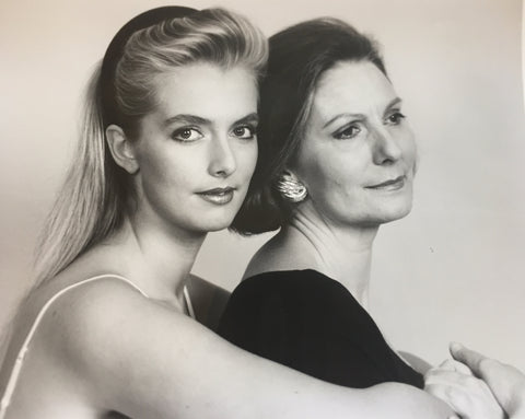 Founder Sam Gent & her mother Jean Condon