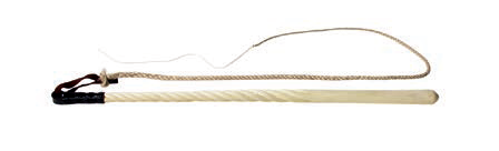 OLD SCHOOL STYLE BRAIDED WOOD WHIP