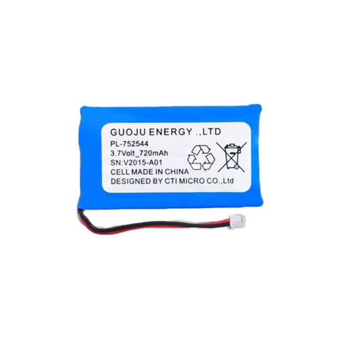 ECOLLAR TECHNOLOGIES REPLACEMENT BATTERY LIPO 3.7V 720MAH BATTERY
