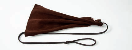 ABC Sport Klin - leather Puppy rag with Leather Lead Attached