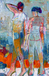 Divus 10 Mixed Media on Canvas 24 x 36 x 1 1/2 (width) inches