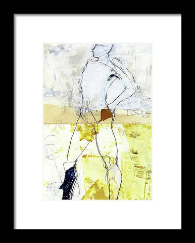Life Drawing 7z - Framed Print