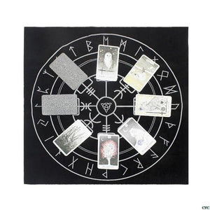 Pagan Altar Tarot Cloth - electric-pagan