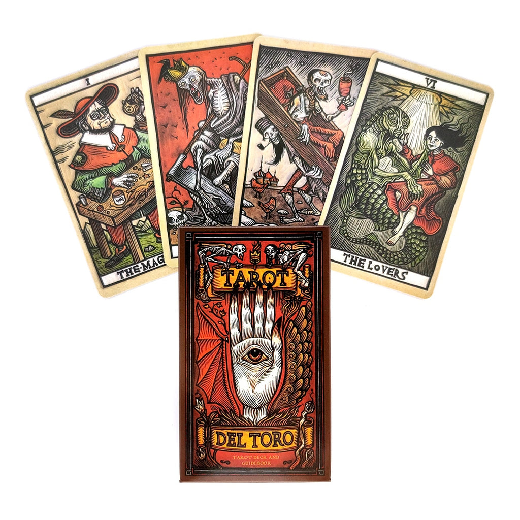 2021 New Del Toro Tarot Cards And PDF Guidance Divination Deck