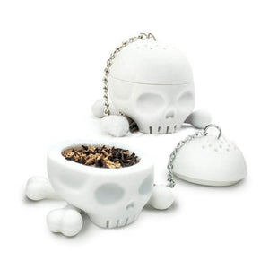 T-Bones Tea Bones Skull Infuser - electric-pagan